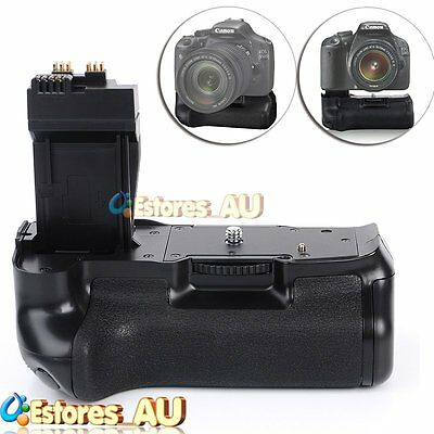 【AU】Vertical Battery Grip For Canon EOS 700D 650D 600D 550D Rebel T5i T4i T3i