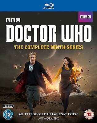 Doctor Who The Complete Season / Series 9 Blu-Ray Englisch