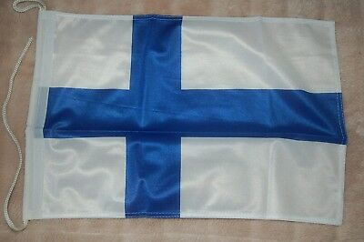 Finnland Bootsflagge Bootsfahne Boot Flagge Fahne