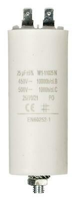 Capacitor 25.0uf / 450 v + earth