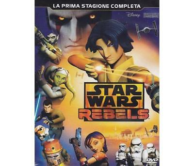 Film DVD WALT DISNEY - Star Wars - Rebels - Stagione 01 (3 Dvd)   - Colori