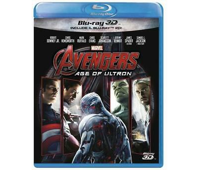 WALT DISNEY - Avengers - Age Of Ultron (3D) (Blu-Ray+Blu-Ray 3 - Colori