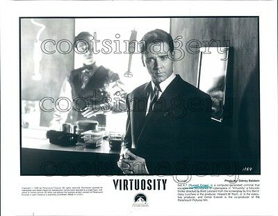 1995 Handsome Actor Russell Crowe in Virtuosity Press Photo