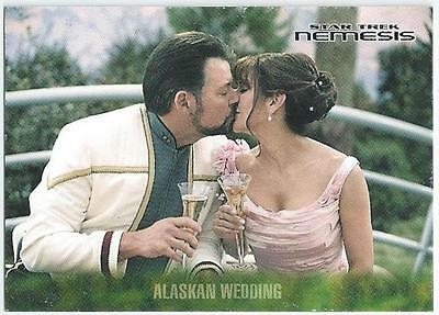 Star Trek - Nemesis - Card 4 - Alaskan Wedding (Aqic)
