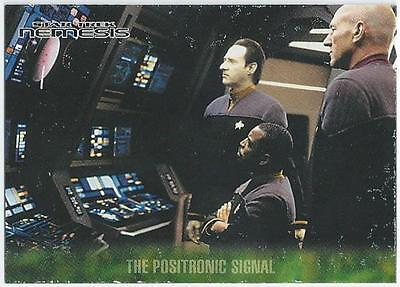 Star Trek - Nemesis - Card 7 - The Positronic Signal (Aqif)