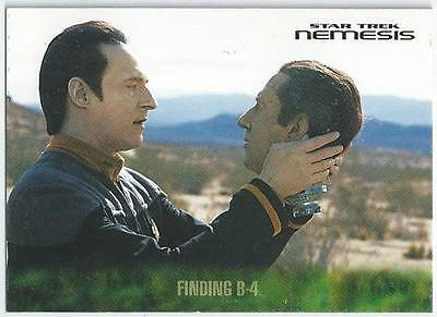 Star Trek - Nemesis - Card 9 - Finding B-4 (Aqih)