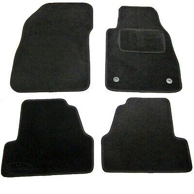 Vauxhall Mokka 2012 onwards Tailored Carpet Car Floor Mats Black 4pc set Easimat