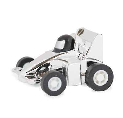 Funtime Pull Back 'N' Go Silver Racing Car Boxed