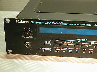 expander Roland JV-1080 JV1080 Synthesizer multitimbral synth module RACK 64 */*