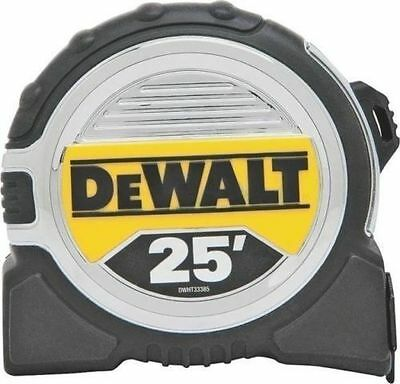 "New Dewalt Dwht33385  1 1/4"" X 25' Usa  Heavy Duty Tape Measure Tool 3778511"