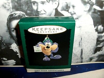 Dizzy Devil`1994`Miniature-Tiny Tunes Cartoon,Handcrafted,Hallmark Tree Ornament