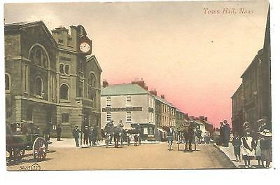 irish postcard ireland kildare naas