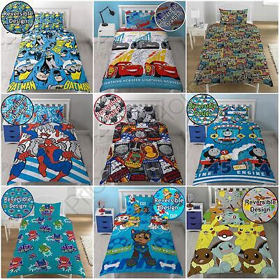 Boys Character Single Rotary Duvet Covers Star Wars, Avengers, Paw Patrol + More