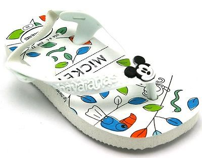 "Havaianas Child-Toddlers-Infants Flip Flops ""baby Mickey"""