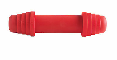 Mastrad Adjustable Red Silicone Rolling Pin Small 23cm Pasta Pastry Dough Bake