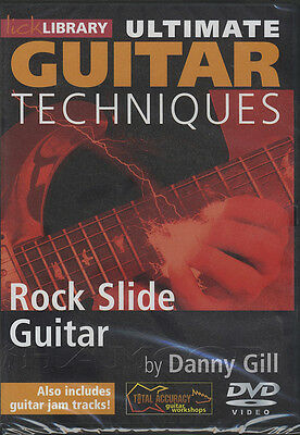 Ultimate Guitar Rock Slide Guitar Lick Library DVD Bottleneck Blues Tuition