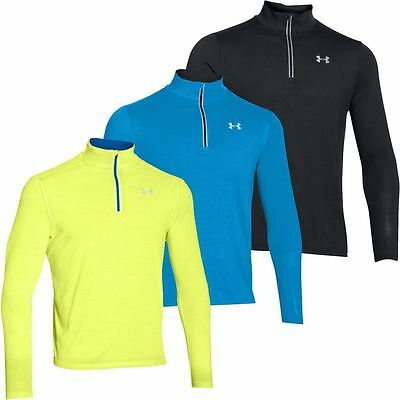 2016 Under Armour Microthread Streaker 1/4 Zip Run Cover-up Long Sleeve Pullover