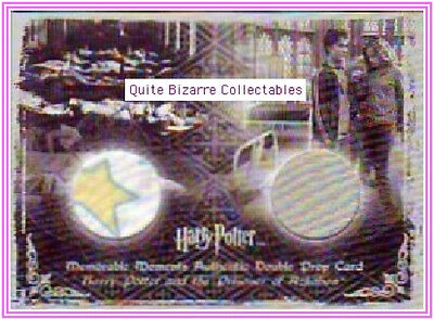 Harry Potter Double Prop Costume Card PoA Ci1 Ci3 P1 MM2 Ron Hedwig Neville New