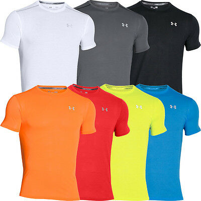2016 Under Armour Microthread Streaker Run T-Shirt Mens Training Sports Tee