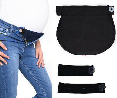 Mija Set of 3: Maternity Pregnancy waistband ADJUSTABLE elastic waist extender