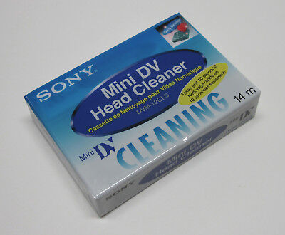 1 Sony Mini DV head cleaning cassette for JVC GR D770 G750 D72 D90 D93 camcorder