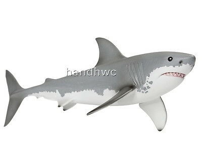 Schleich 14700 Great White Shark Sealife Model Toy Figurine Replica - NIP