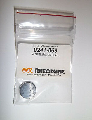 VESPEL ROTOR SEAL, Rheodyne 0241-069, New, For 7010-083