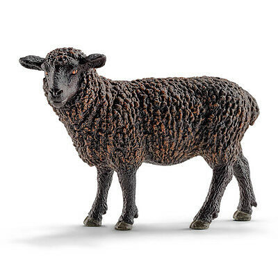 Schleich 13785 Black Sheep Model Farm Animal Toy Figurine - NIP