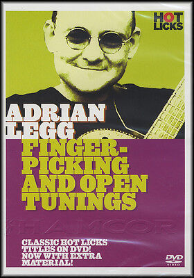 Fingerpicking & Open Tunings Adrian Legg Guitar Tuition DVD Learn To Play