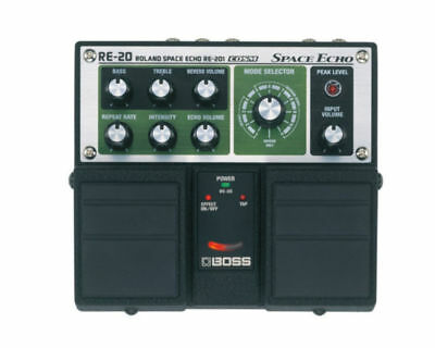 Boss RE-20 Space Echo Electric Guitar Effects Pedal