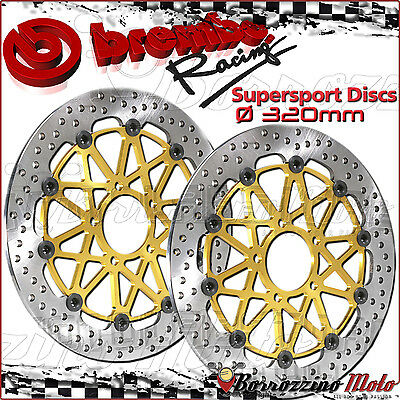 Disques Frein Avant Brembo Racing Supersport Flottants Yamaha Yzf R6 600 2005