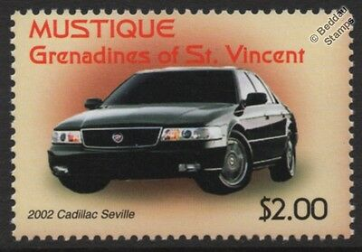 2002 CADILLAC SEVILLE Car Stamp