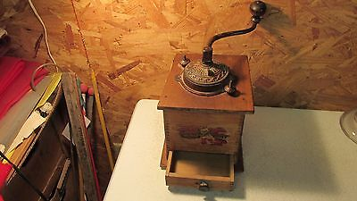 Antique Delmar Coffee Mill Simmons Hardware