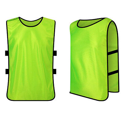 Scrimmage Vests Soccer Basketball Football Youth Adult Sports Pinnies Shorts Top