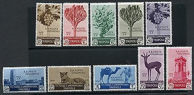 Italian Libya  Scott#b38/47  Set  Mint Light   Hinged