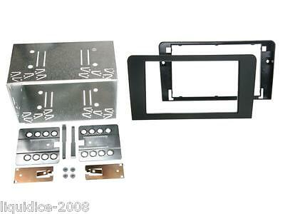 Ct23Au08 Audi A3 8P/8Pa Black 2004 - 2012 Double Din Fascia Adapter Fitting Kit