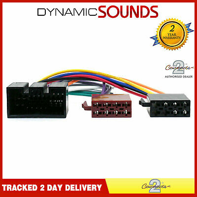 CT20JG01 Stereo Harness ISO Adaptor Wiring Loom Lead For Jaguar X-Type, S-Type
