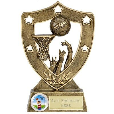 Netball Shooter Ball Trophy Net Ball Trophies 2 Sizes Available Engraved Free