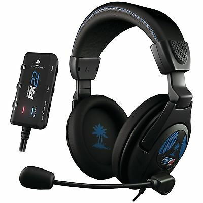 Turtle Beach Ear Force PX22 Amplified Gaming Headset PS3 Xbox 360