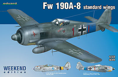EDUARD 7435 Fw190A-8 Standard Wings in 1:72