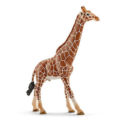 Schleich 14749 Giraffe Male Wild Animal Model Toy Figurine 2016 - NIP