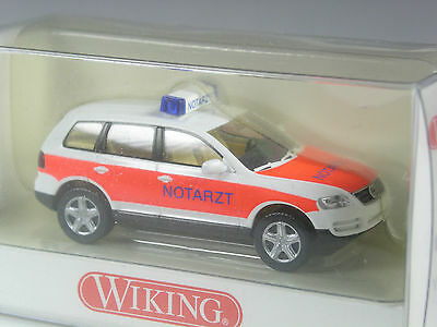 Wiking VW Touareg Notarzt in OVP TOP
