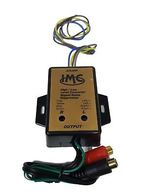 NEW IMC AUDIO  High Level to Low Level Converter + RCA Input Sensitivity Control