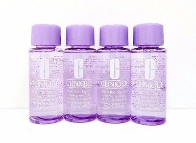 Clinique Take The Day Off Makeup Remover  - 4 x 50ml Travel/Sample Size