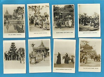 Original Cavanders cigarette cards - PEEPS INTO MANY LANDS - 2nd  Series 1928