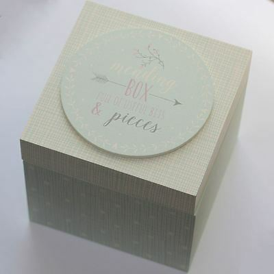 """East Of India """"Mending Box Full Of Useful Bits & Pieces"""" Craft Present Gift Box"""