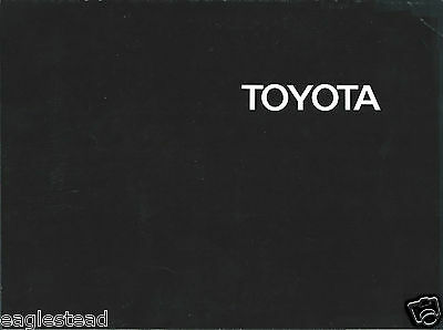 Auto Brochure - Toyota - Product Line Overview - 1970  (AB885)