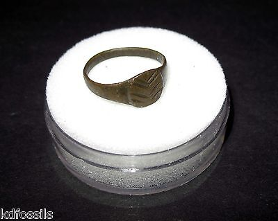 Roman Byzantine empire ring 5th century AD to fall of Byzantium 18mm #29