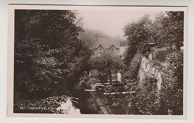 Gloucestershire postcard - Tea Gardens, Frenchay, Bristol - RP