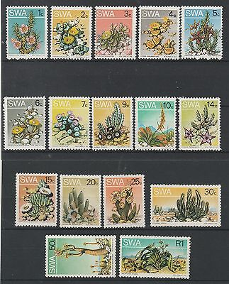 South West Africa 1973 Succulents Set Mnh **
